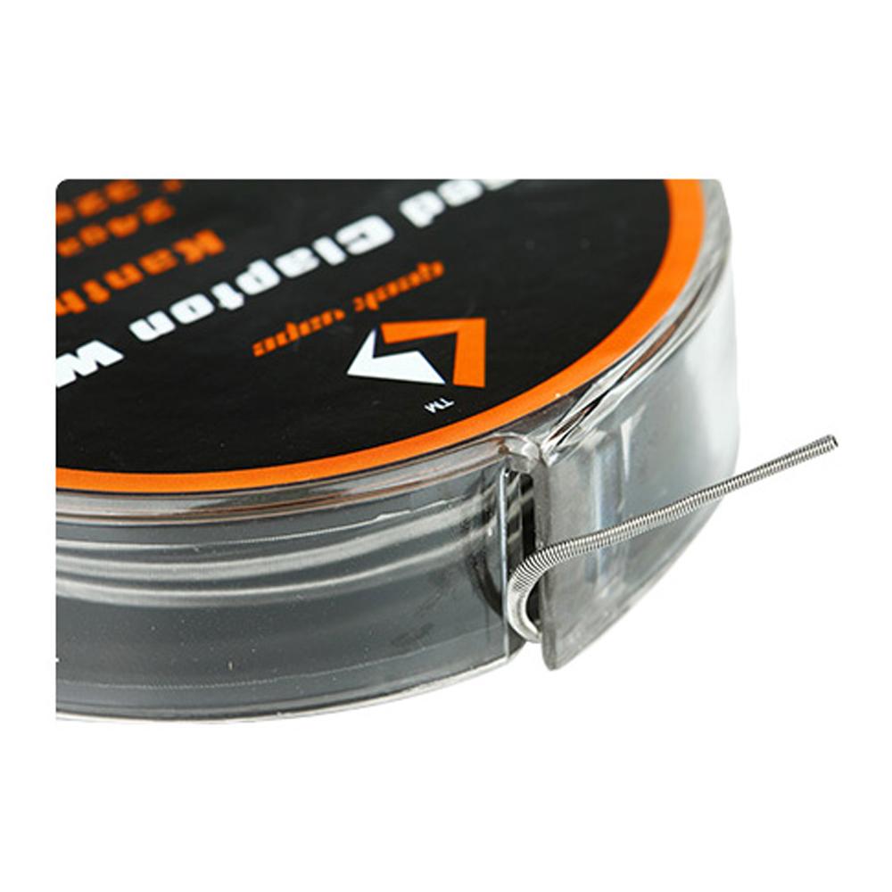 GeekVape 3 Meter Kanthal A1 Fused Clapton Wire 24GA x 2 + 32GA (0.51 ...